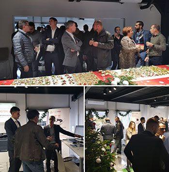 De nombreux clients, des concessions Xeroboutique Sud et Xeroboutique 91, sont venus assister à la présentation de notre produit phare.