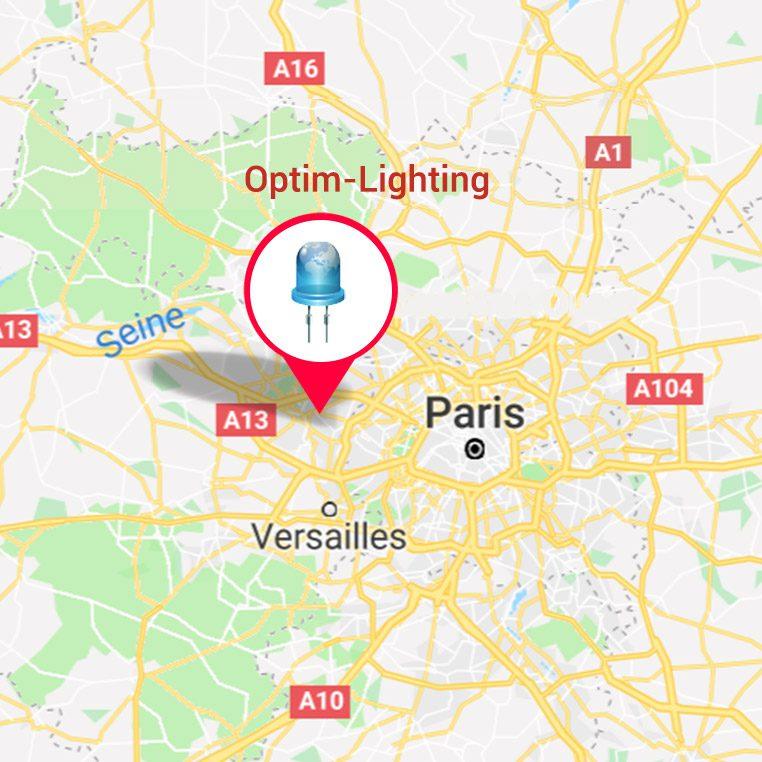 OPTIM LIGHTING 57, boulevard de la République 78400 Chatou