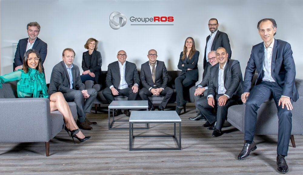 L'équipe du Groupe ROS