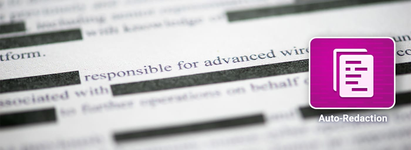 Document censuré rédigé