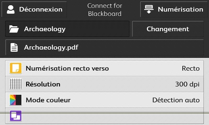 Connect pour Blackboard capture d'écran