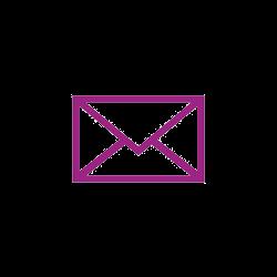 Icône violette email