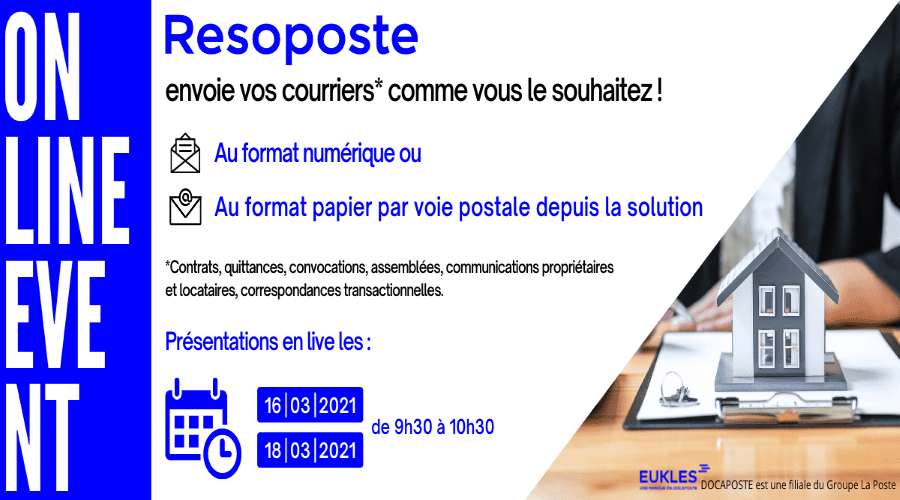 OnLine Event - souliton courrier Resposte